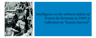 Intelligence in the military defeat of France by Germany in 1940